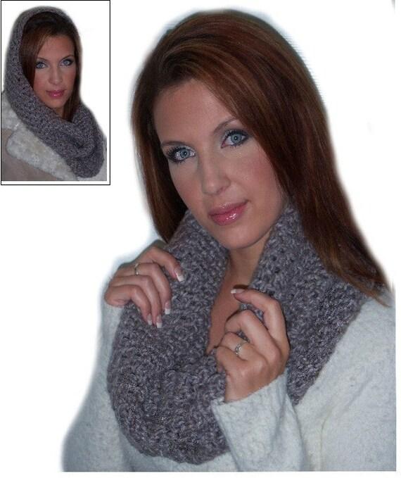 PATTERN Million Dollar Cowl Pattern - Learn to Crochet