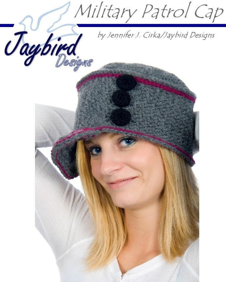 Alfa img - Showing > Military Hat Crochet Pattern