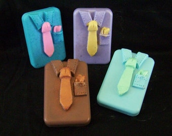 Best Dressed Mans Shirt Tie Silicone Soap Mold Mens Soap Design Fathers Day DIY Craft Molds High Quality Boys