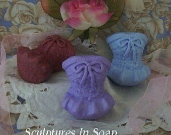 Lace Corset Silicone Soap Mold Wedding Favor Mold Wax Mold