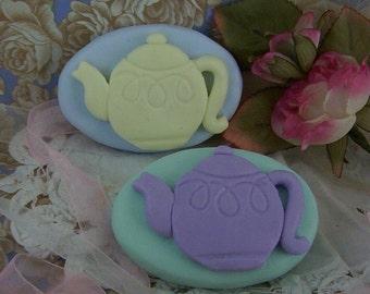 Tea Pot High Tea Silicone Soap Mold Wedding Shower Tea Party Birthday Party Favors English DIY Craft Molds
