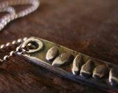 Pebbles For Your Path - Silver Stones Pendant Journey Necklace