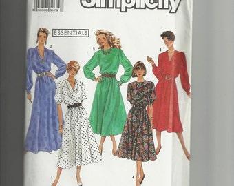 Simplicity  Misses' Dress  Pattern 9951