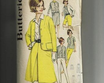Vintage Butterick Misses' Sportswear Wardrope Pattern 2710