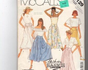 McCall's Misses Skirt Pattern