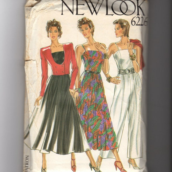 New Look Dress and Pant Pattern 6226