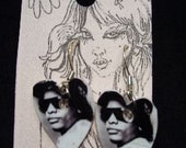 Eazy-E shrinky dink earrings