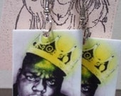 spotlight on Biggie Smalls earrings