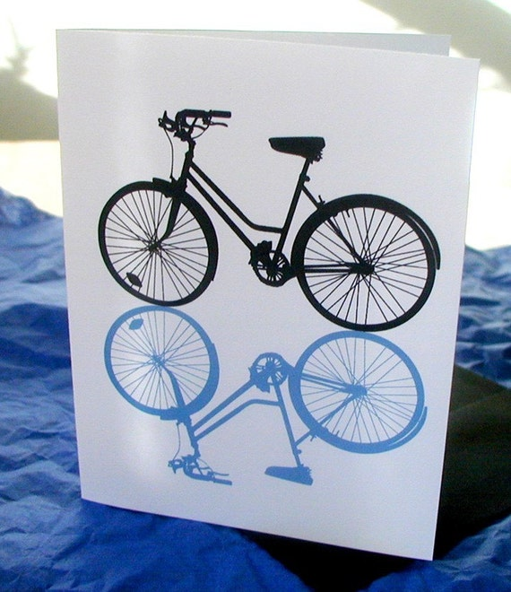 Classic Bike Notecards