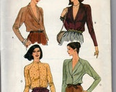 Vintage Sewing Pattern - Vogue 7460 - Blouse