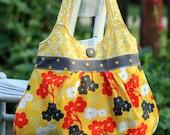 Pretty in Pleats pleated purse PDF sewing pattern