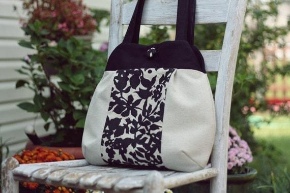 Nanette tote PDF sewing pattern