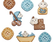Baby Fun   Boy Buttons