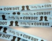 "5/8"" Giddy Up Cowboy Grosgrain Ribbon  5 yards"