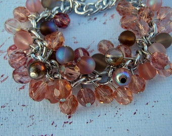 Dreamy Pink Bauble bracelet