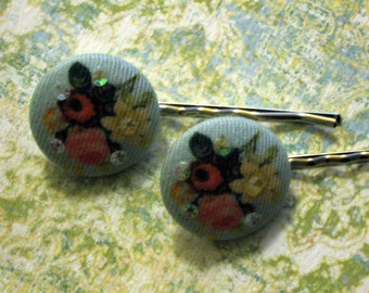 Floral Hairpins
