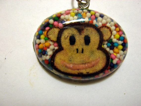 Monkey to the Rescue Necklace