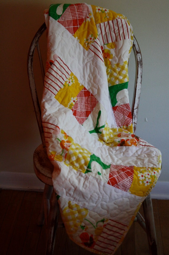 Modern Baby Quilt-Lifesavers
