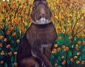 Jack Rabbit, Bunny Rabbit ARt by Nesbitt, Team EFA SALE