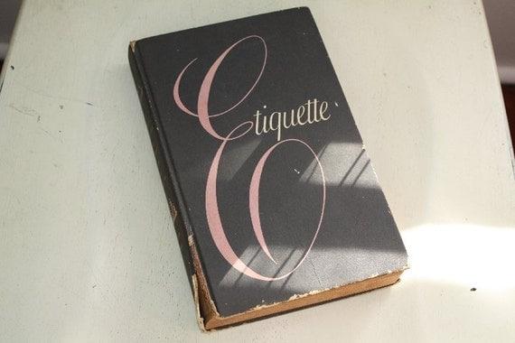 1956 Etiquette by Frances Benton.
