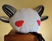PERCHED Bird Pillow:  .Griffon.