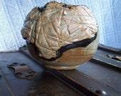 Ceramic Tiger Vessel