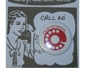 Old School Phone Pocket Mirror