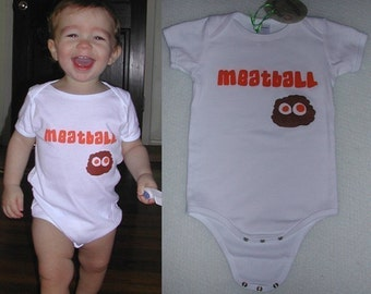 Meatball Infant Onesie