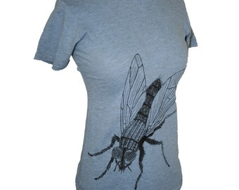 Destroyed Fly Tshirt Small size