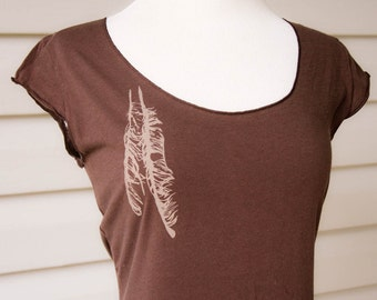 Sale Brown Feathers Scoop