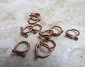 18 Gauge Copper Connectors/Links - 10 pieces
