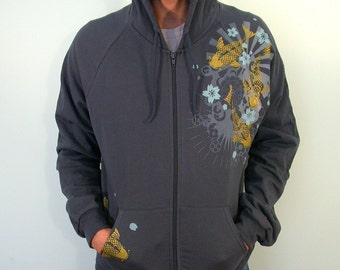 SALE GOLD koi mens Hoodie(only Small )