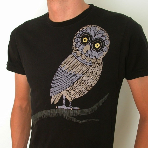 Hood Swamp Hoot owl Mens T