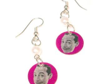 Pee-wee Herman Earrings