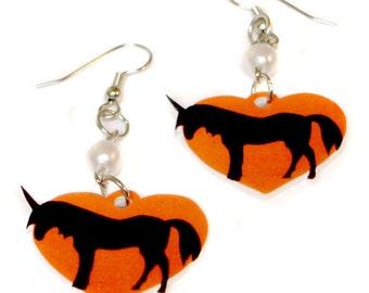 Unicorn Love Earrings