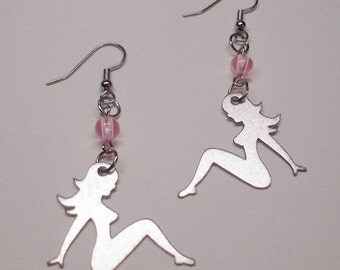 Super Sexy Pin Up/Mud Flap Girl Earrings