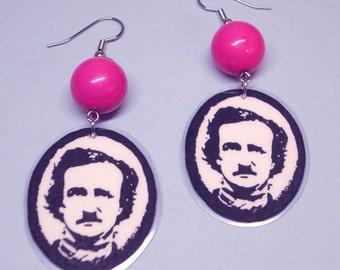 Edgarlicious Edgar Allan Poe Earrings
