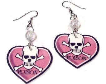 Poison Heart Earrings