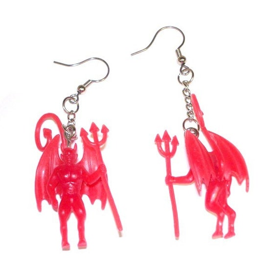 Devil on Your Shoulder Earrings