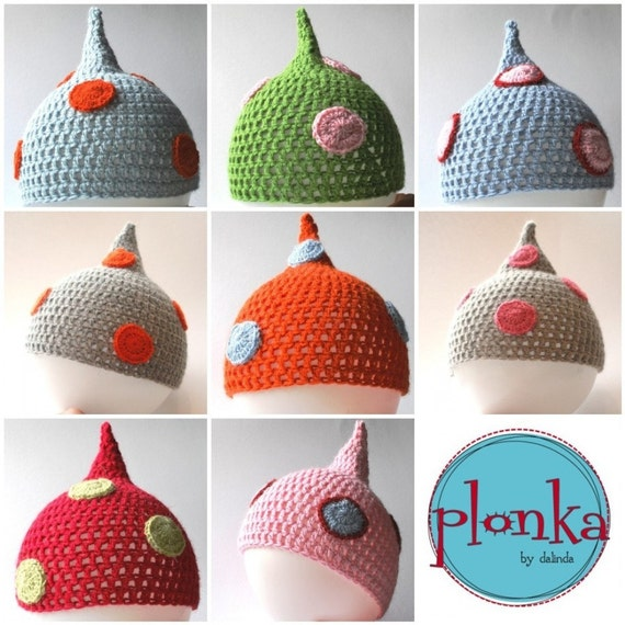 Make your own plonkas hat with this CROCHET KIT.