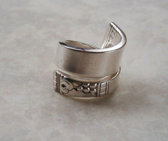 Silver Spoon Ring Recycled Silverware Jewelry Forever Made to Order