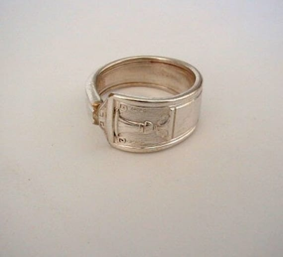 Silver Spoon Jewelry Ring 1923 Century Pattern Custom Sizing