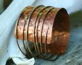 Roots - Copper Mixed Metal Cuff