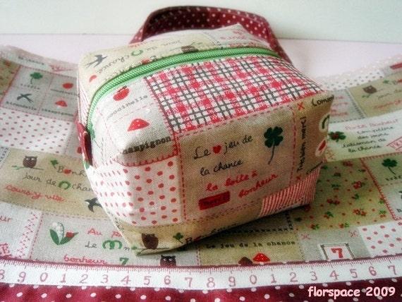 Le Bonheur----- Treasure Box Purse