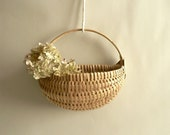 Woven Wall Sconce Basket