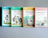Vintage Winnie the Pooh Books Set / A. A. Milne Children's Book Set