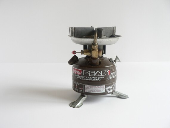RESERVED FOR RICH Coleman Peak 1 Model 400-499 Backpacking Stove