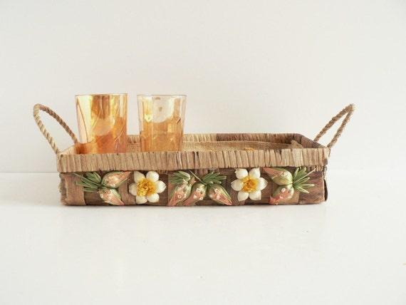 Vintage Casserole Serving Basket