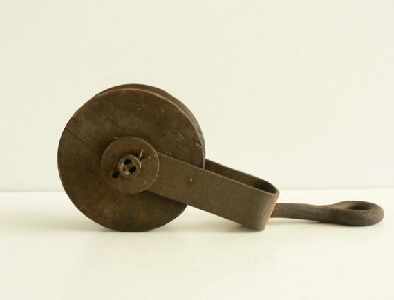 Reserved for Matt Wood Wheel Industrial Pulley