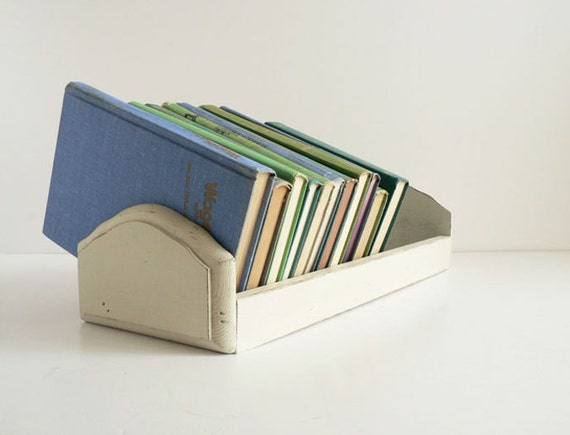 Book Organizer / Book Caddy , Cookbook Holder